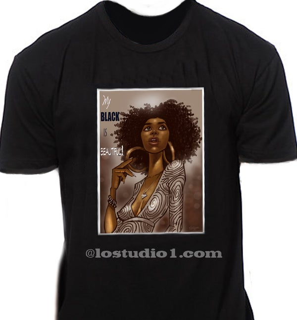 "Image of ""MY BLK IS BEAUTIFUL"" T-S"