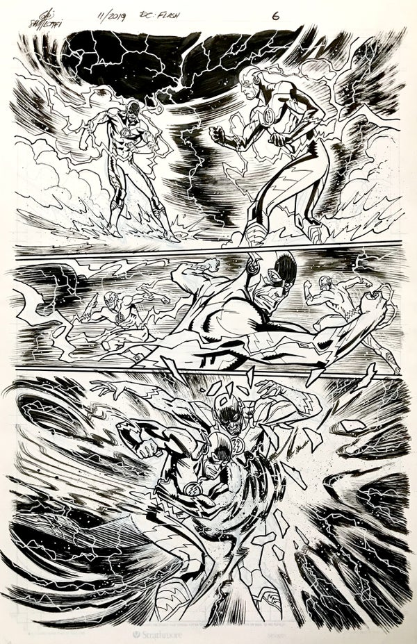 Image of DC FLASH: FASTEST MAN ALIVE ISSUE #9 PAGE 6 of 8