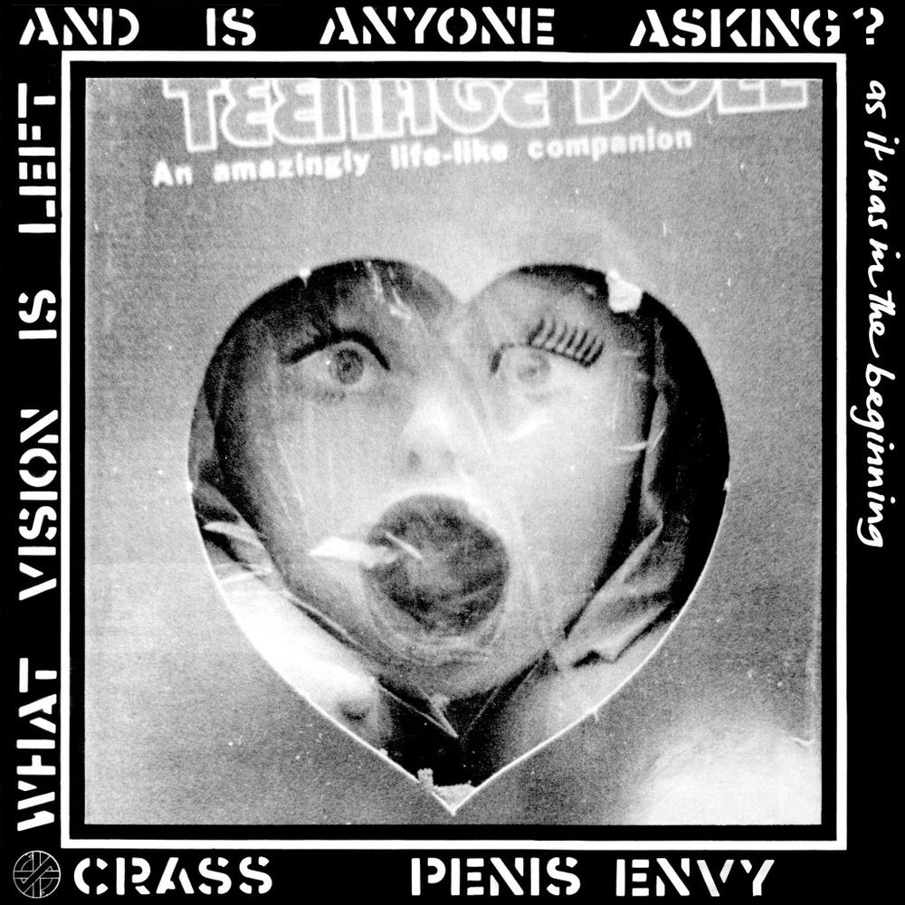 Image of CRASS - Penis Envy LP