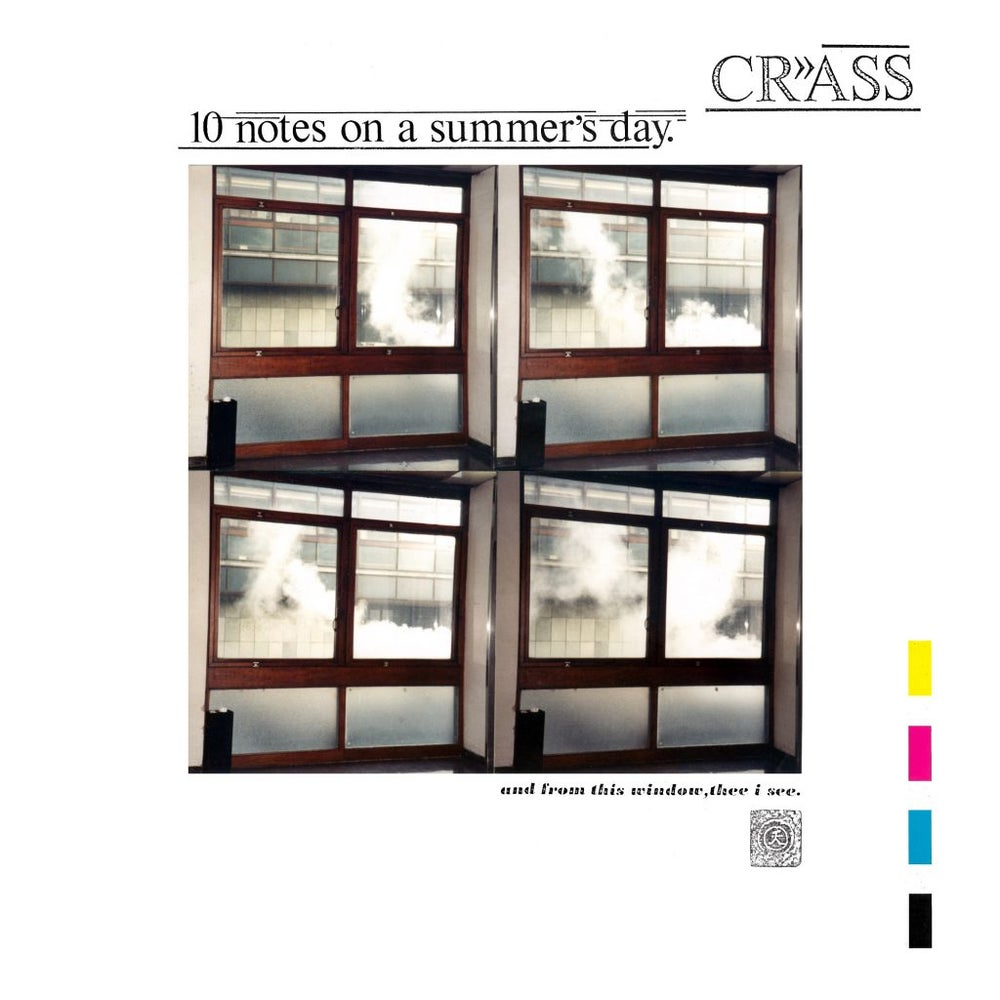 Image of CRASS - Ten Notes On A Summer's Day LP
