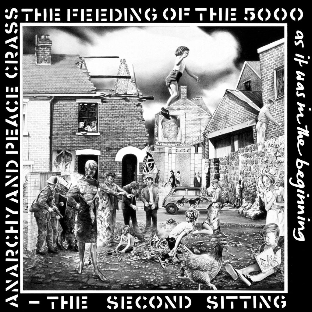 Image of CRASS - Feeding Of The Five Thousand (The Second Sitting) LP