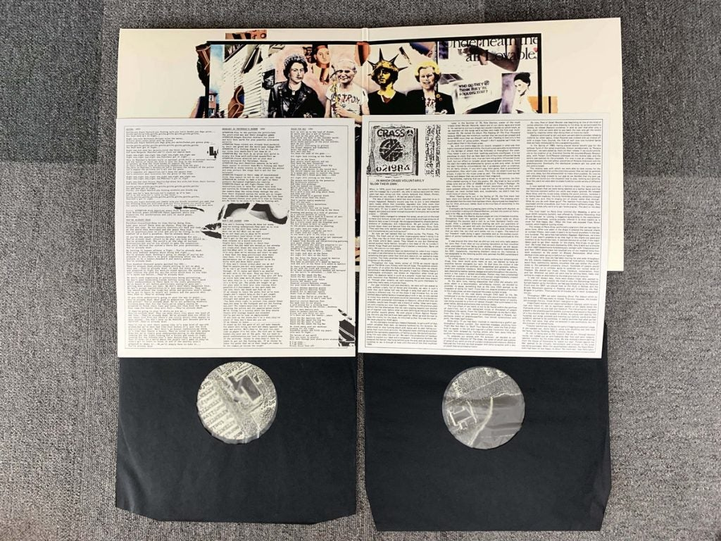Image of CRASS - Best Before 1984 2xLP