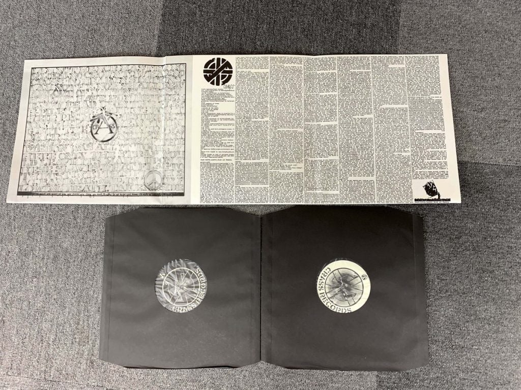 Image of CRASS - Stations Of The Crass 2xLP