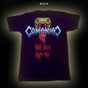 Image of COMANIAC - Holodox / Head Of The Snake merch (T-shirts/Hoodies)