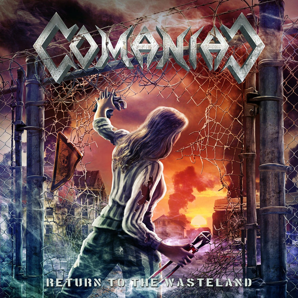 Image of COMANIAC - Return To The Wasteland (Debut CD)