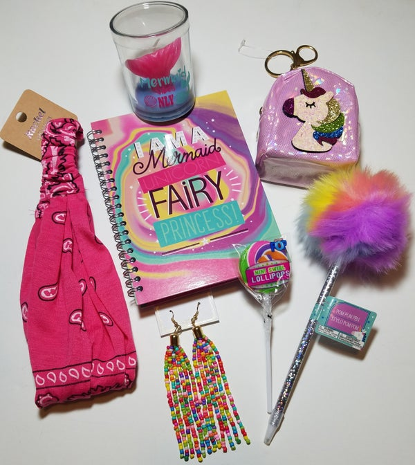 Image of Mermaid Unicorn Fairy Princess Rainbow Accessory Bundle