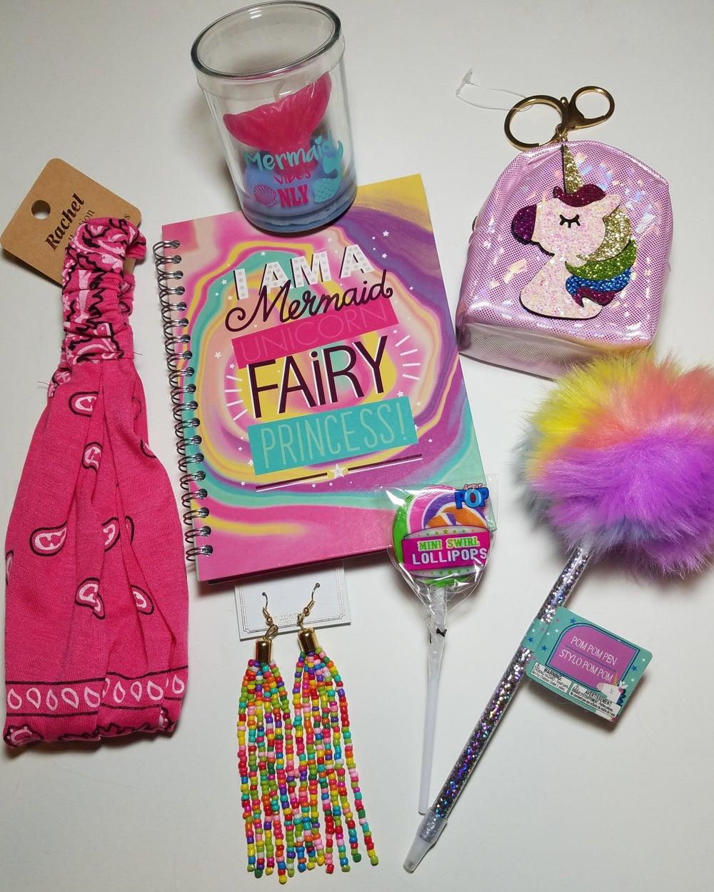 Mermaid Unicorn Fairy Princess Rainbow Accessory Bundle