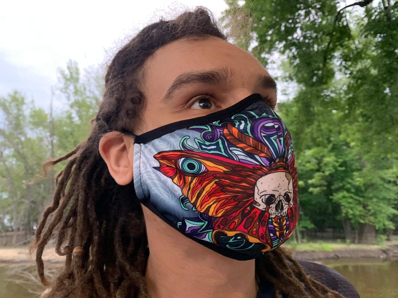Z4 - Deathmoth Mask (Buy 1, Get 1 Free)