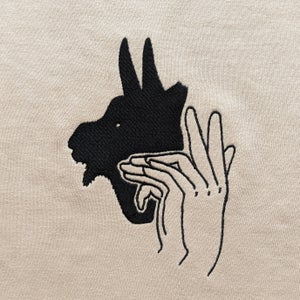 Image of Goat Shadow Puppet Shirt