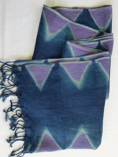 Image of Lilac Mountains — Linen Shawl