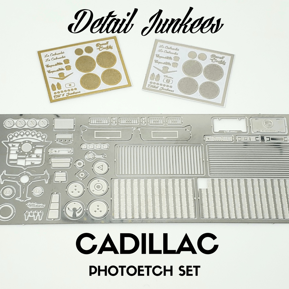 Image of Cadillac Photoetch set for Revell: NOW AVAILABLE
