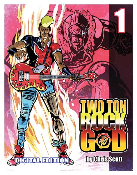 Image of TWO TON ROCK GOD #1 DIGITAL EDITION