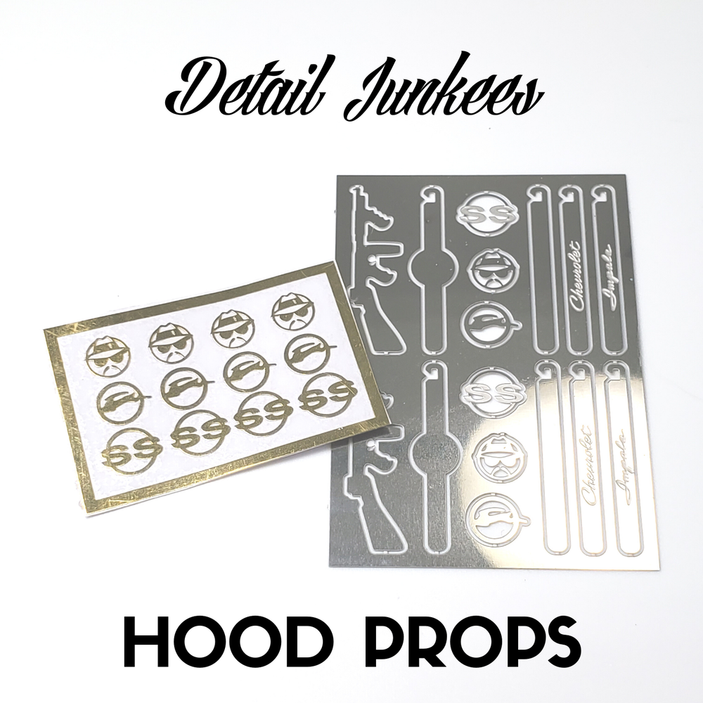 Image of Hood Props: NOW AVAILABLE