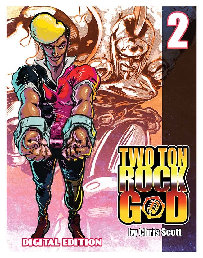 Image of TWO TON ROCK GOD #2 DIGITAL EDITION