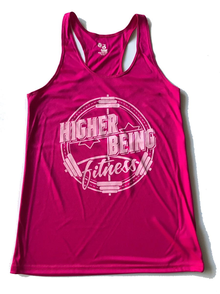 Image of Pink Womans Tank top