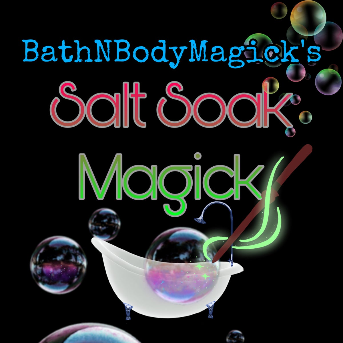 Image of Salt Soak Magick