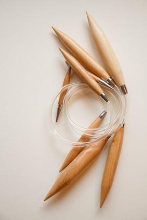 Image of Bamboo Circular Knitting Needles