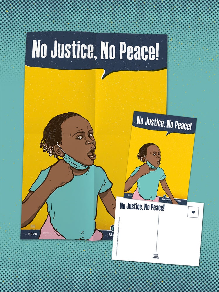 Image of No Justice, No Peace!