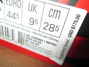 "Image of Air Jordan I (1) Retro High EP ""Satin Royal/Blk"""