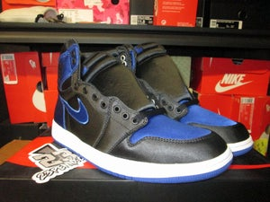 "Image of Air Jordan I (1) Retro High EP ""Satin Royal/Blk"""