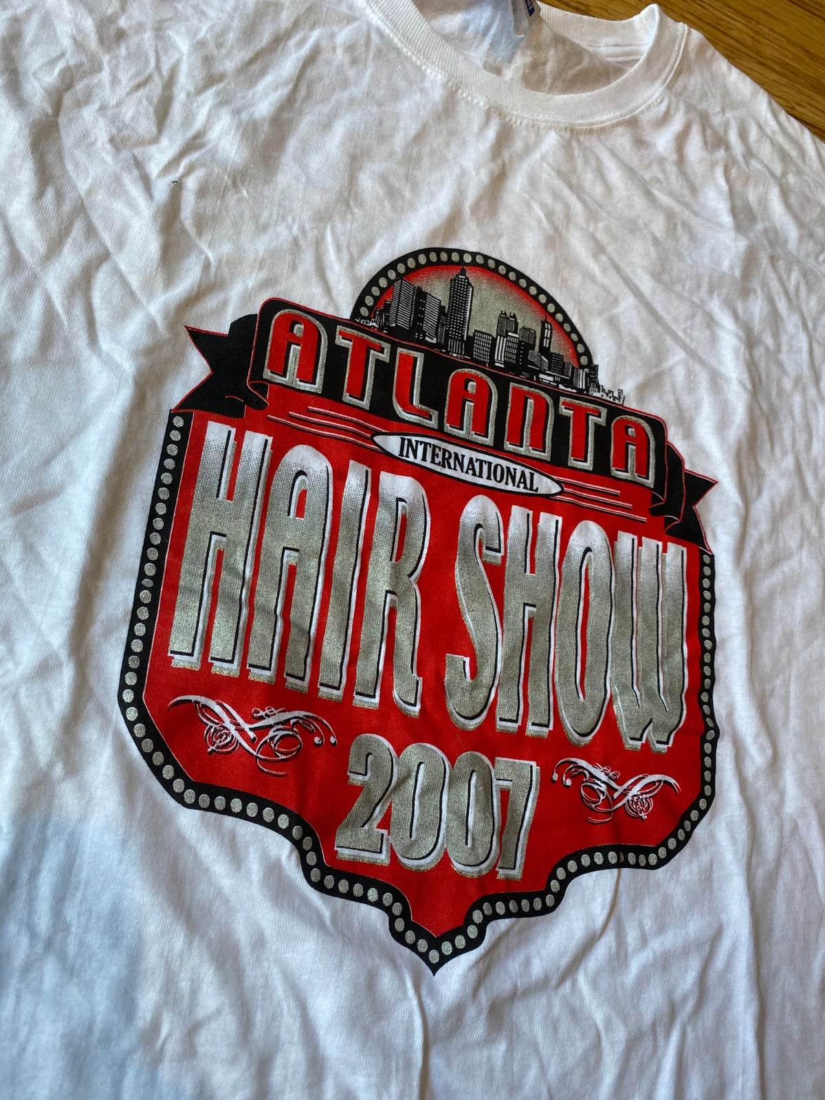 Image of 2007 Atlanta International Hair Show Tee
