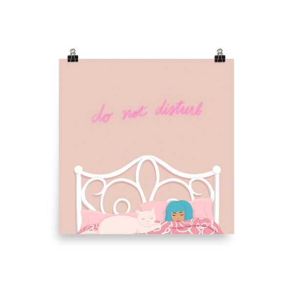 Image of Do Not Disturb Print