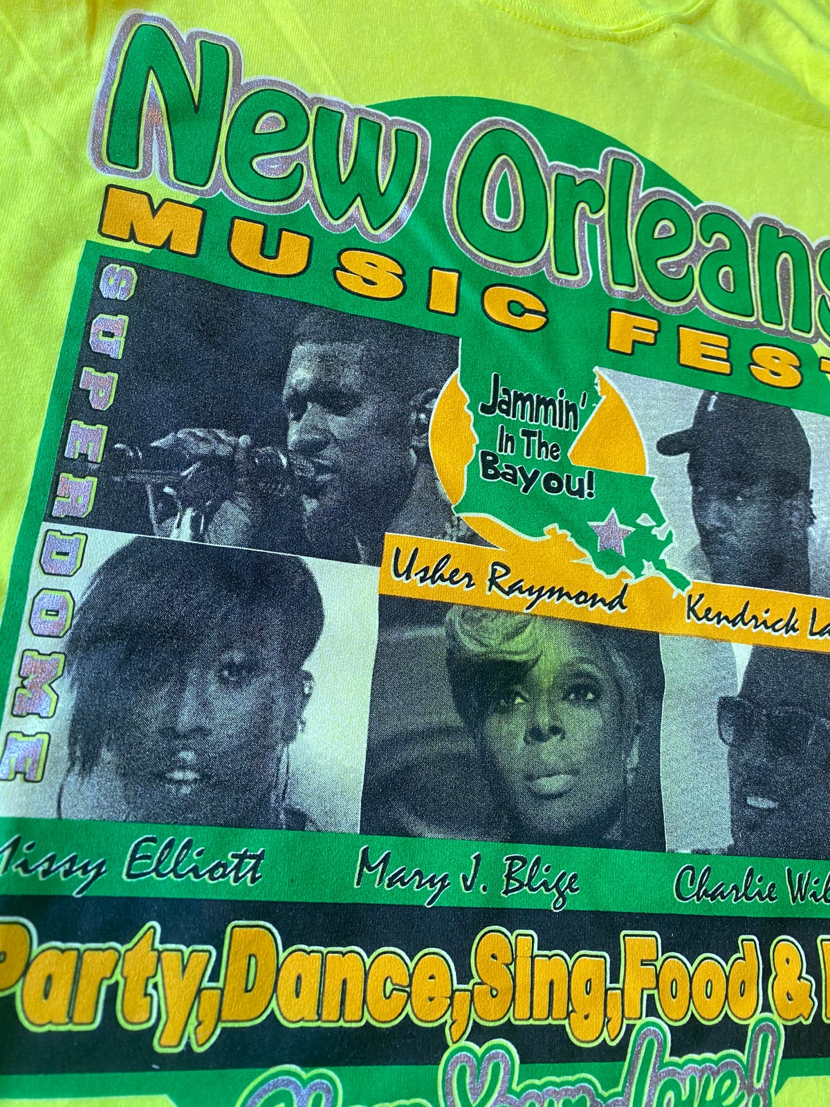 Image of 2016 NEW ORLEANS MUSIC FEST TEE