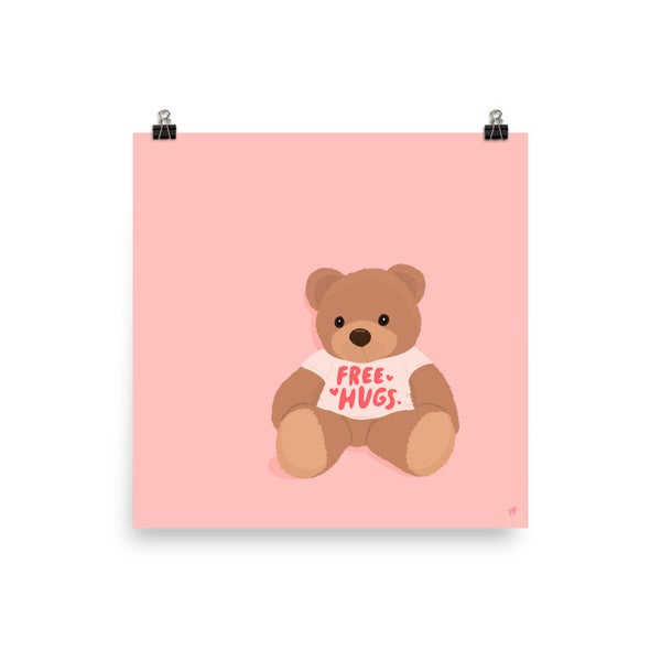 Image of Free Hugs Print