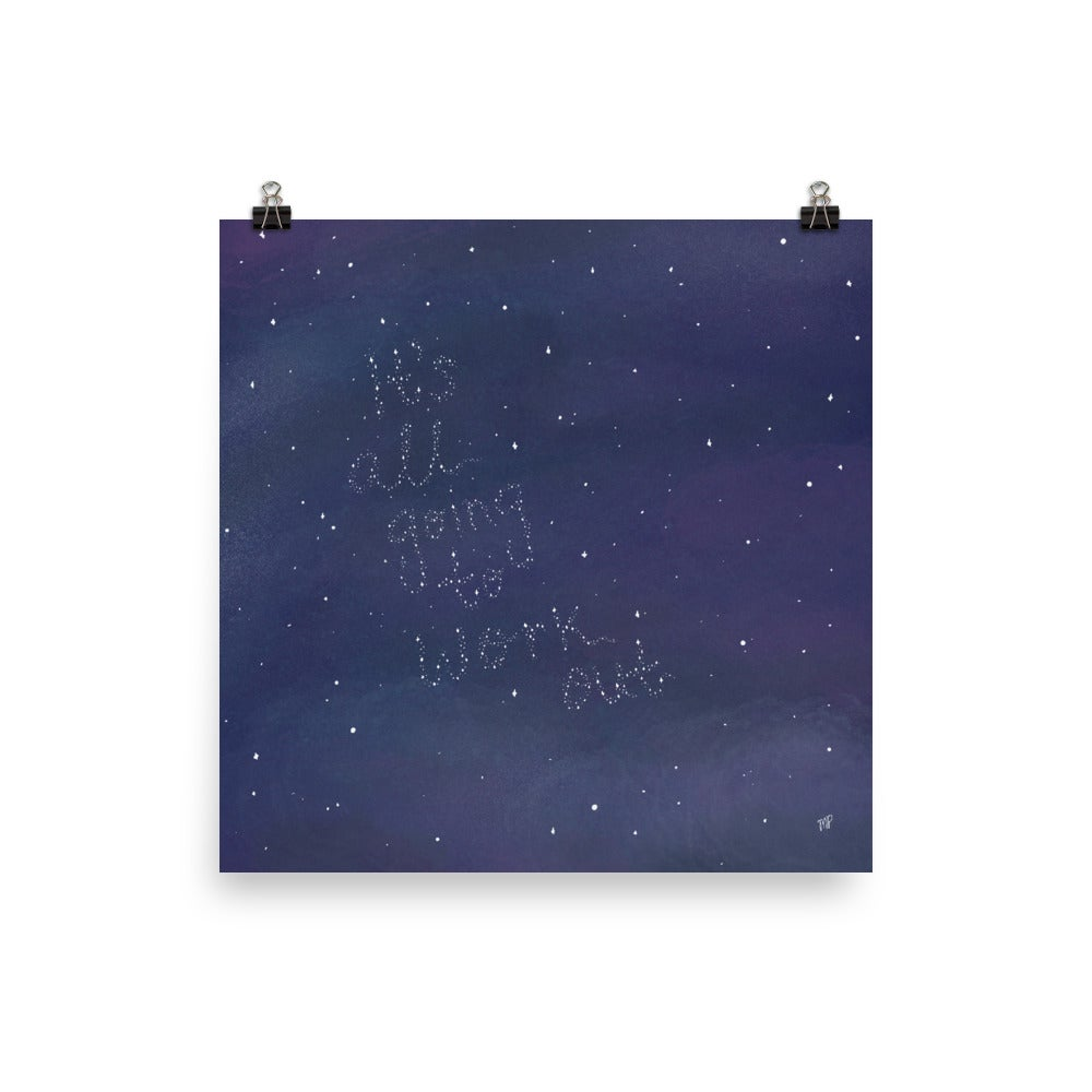 Image of In the Stars Print
