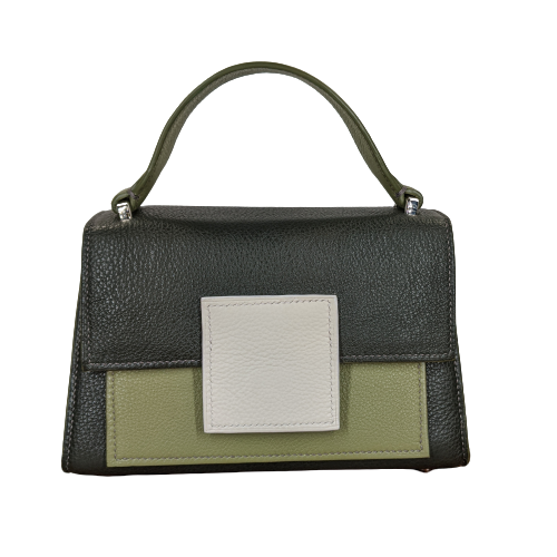 Image of BERRY MINI HANDBAG - GREEN