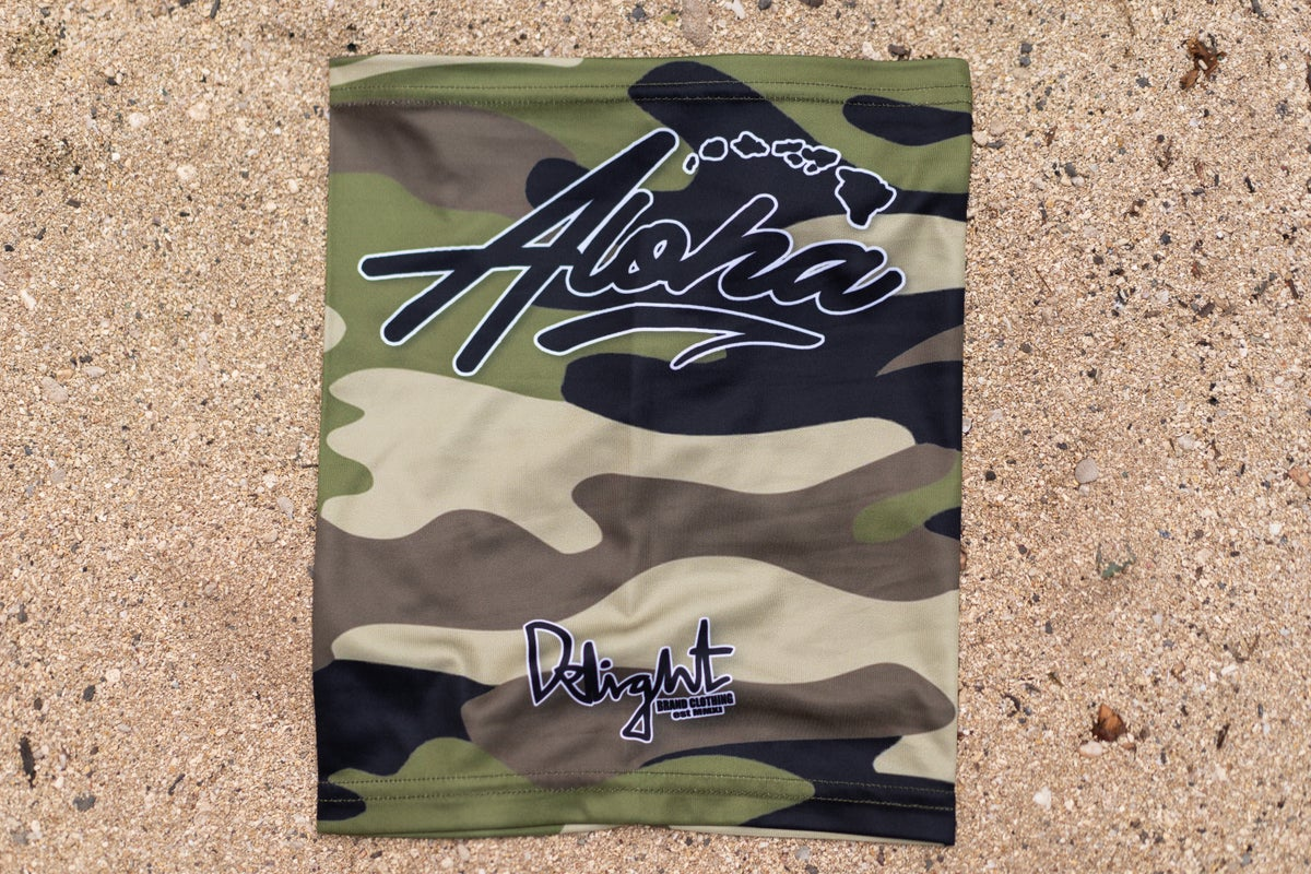 *RESTOCKED* Aloha Islands Camo Face Shield