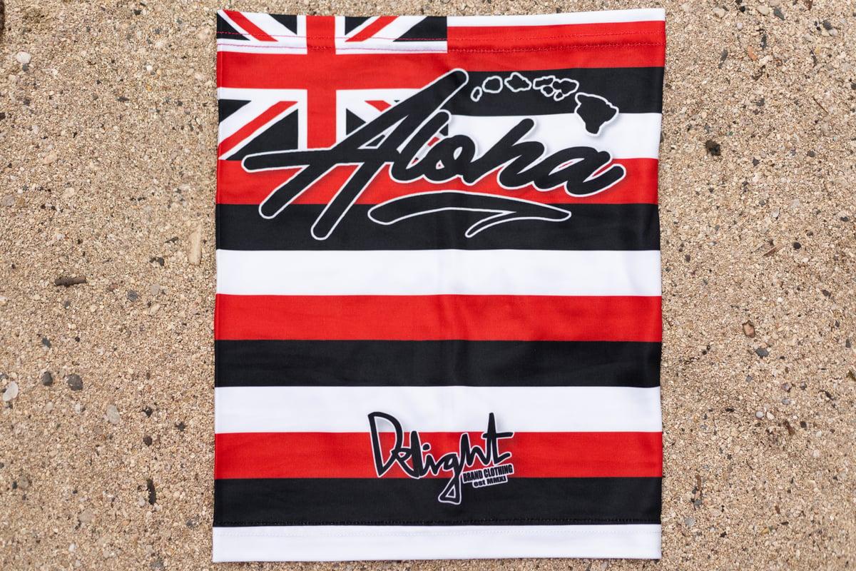 Aloha Islands Face Shield (Hawaiian Flag)