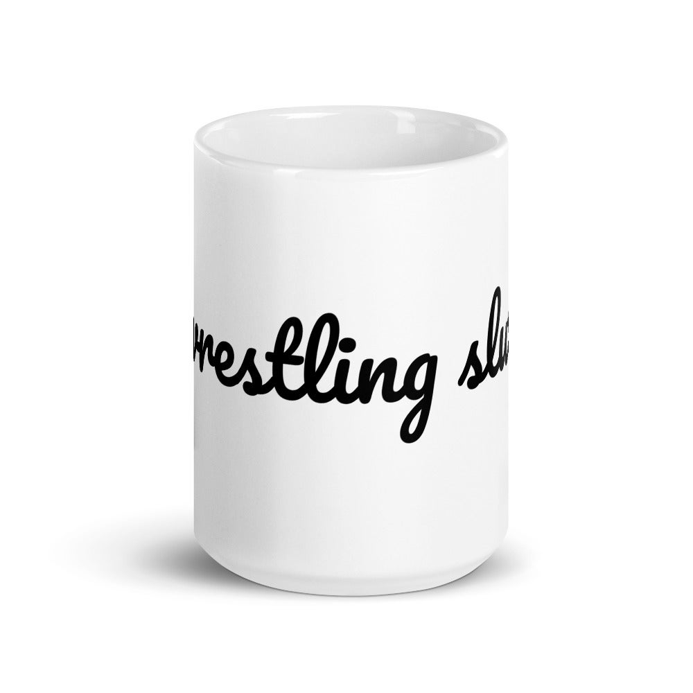 Wrestling Slut Mug