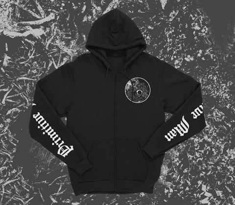 "Image of Primitive Man ""Snakes and Rats"" Zip Hoodie"