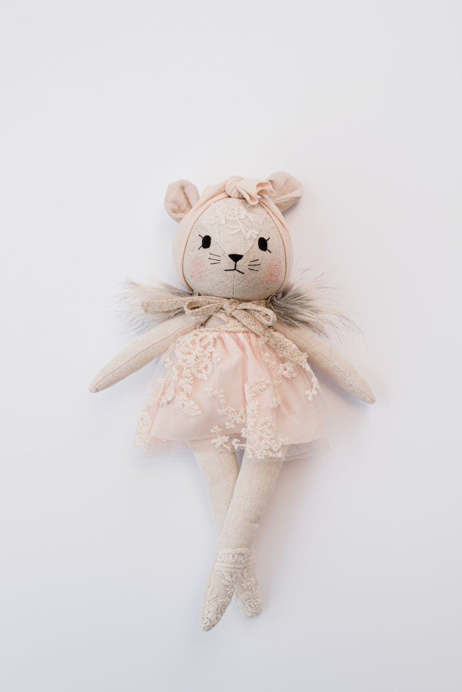 Image of Wonderforest mouse pink with fur