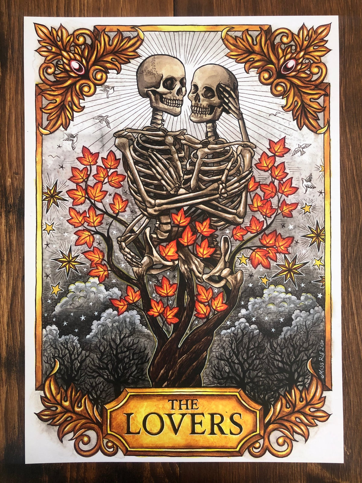 The Lovers ~ A3 Print
