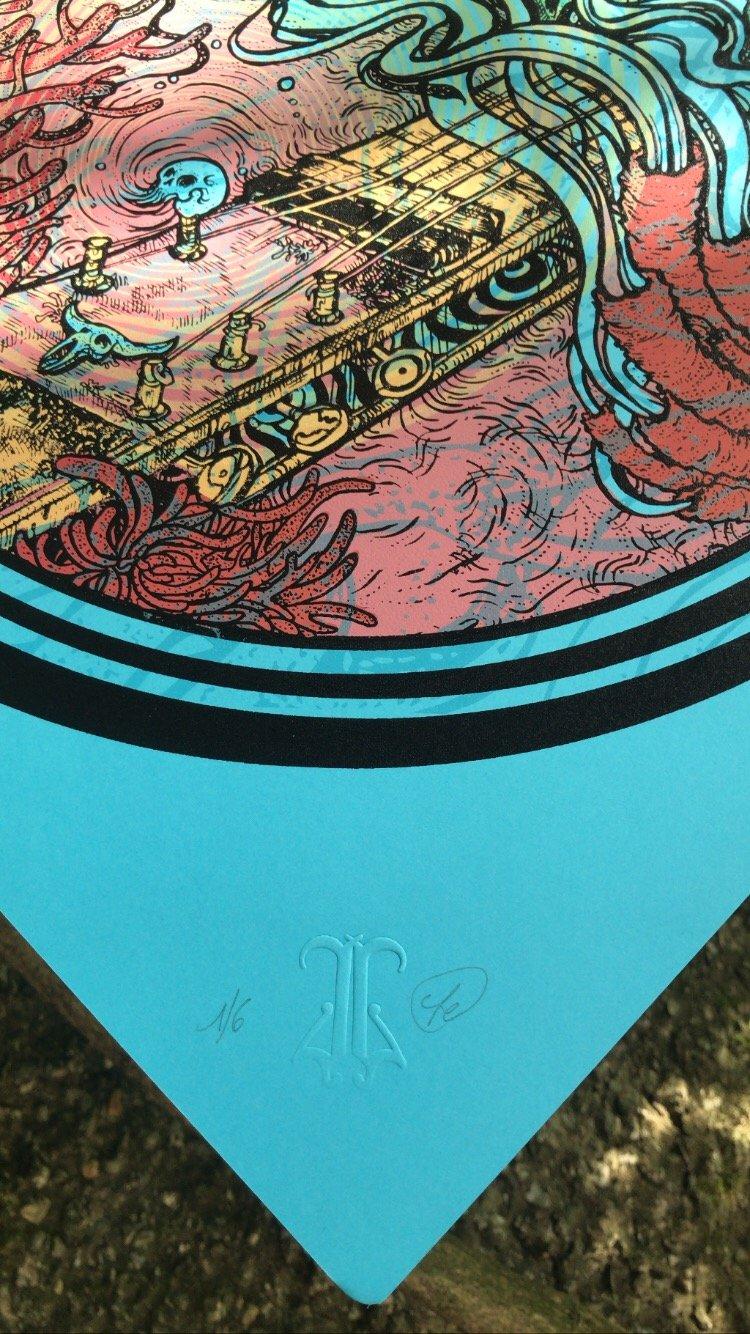 "Image of ""BLUE SKIES"" ArtPrint"