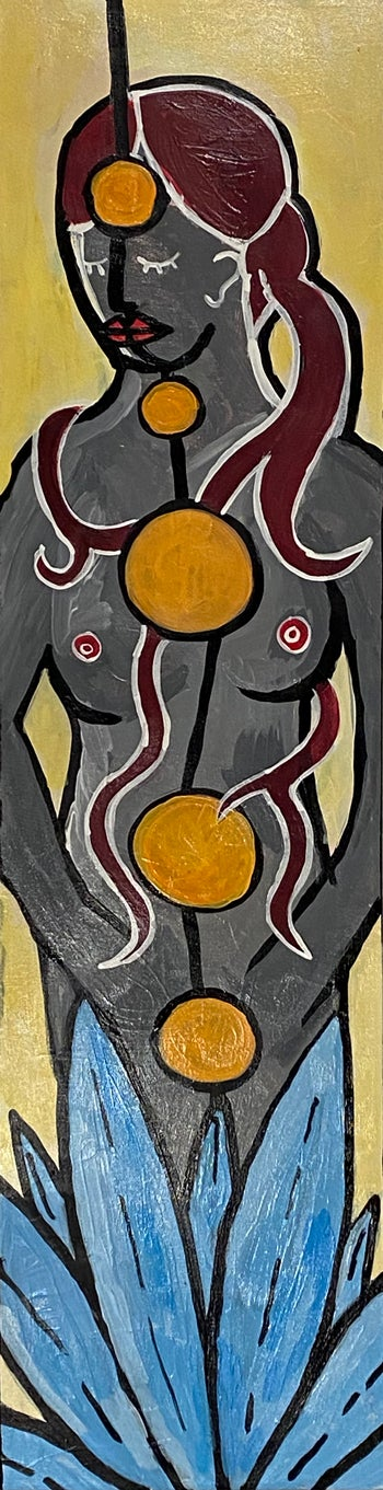 Image of barbette - Acrylic on Canvas Painting 2020