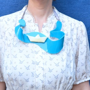 Image of Limited Edition - Origami Boat Necklace