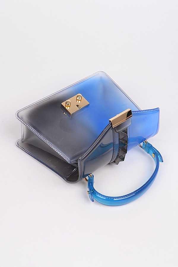 Image of Cobalt Blue Jelly Handbag {Org. $45}