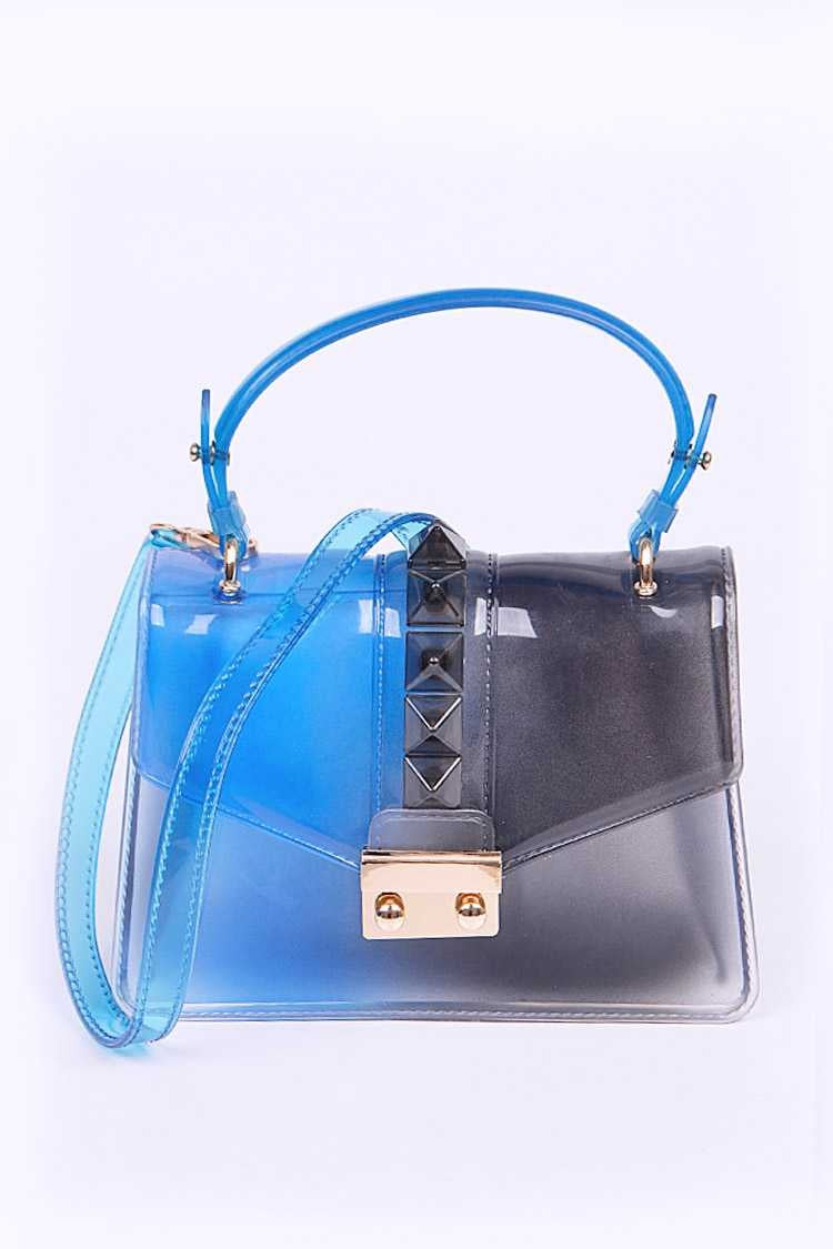 Image of Cobalt Blue Jelly Handbag {Org. $45}
