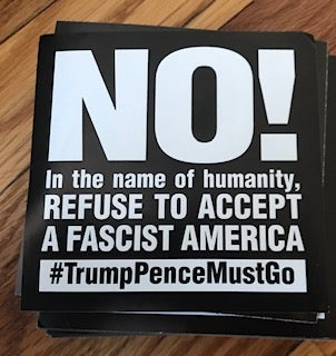 Image of In the Name of Humanity, Refuse to Accept a Fascist America