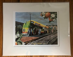 Image of L0055 - The Orange Blossom Express Comes to Jacksonville  - 11X14 Reprint