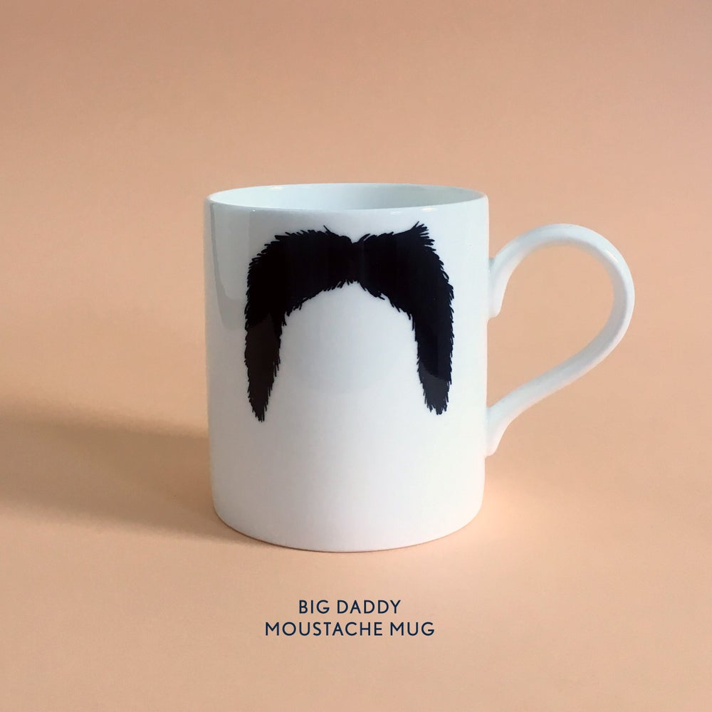 Image of Big Daddy Moustache Mug: THE FU MANCHU