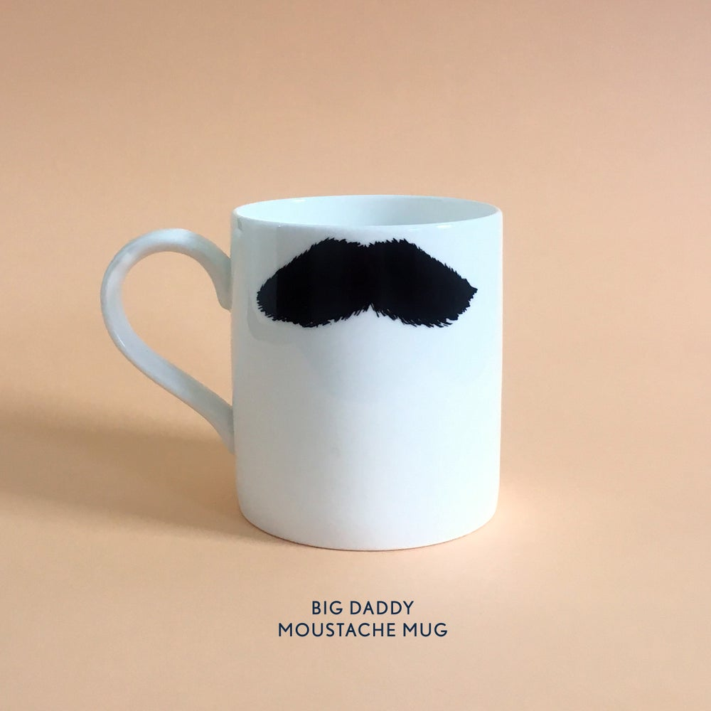 Image of Big Daddy Moustache Mug: CHARLIE CHAPLIN & MUSTAFA