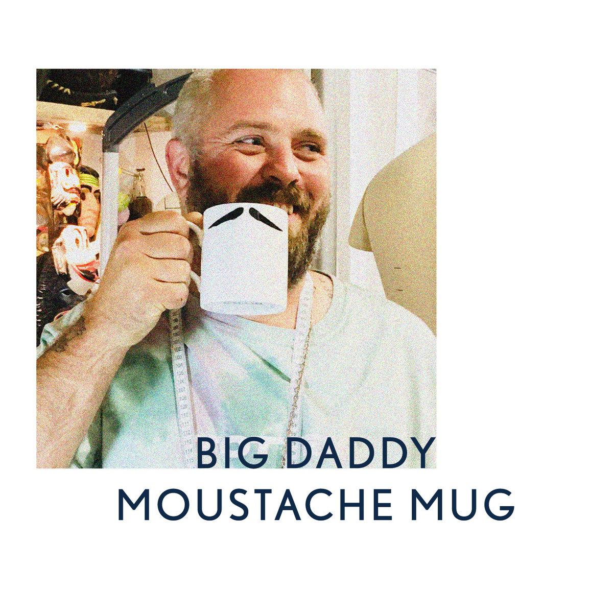 Image of Big Daddy Moustache Mug: INSPECTOR POIROT & MAURICE
