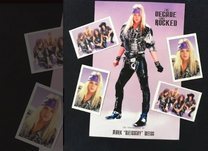 Image of Stevie Rachelle signed Poster & Postcard Package of Mark Weiss Images