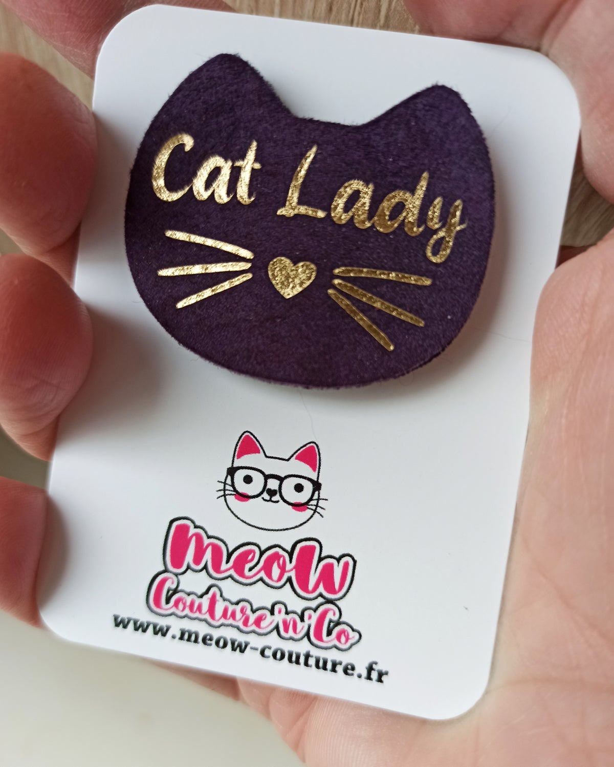 Image of Broche personnalisée