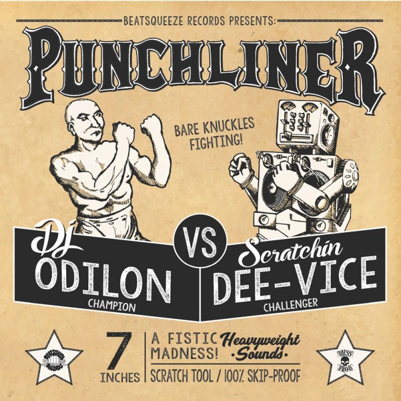 """Image of 7"""" """"Punchliner"""" by DJ Odilon"""