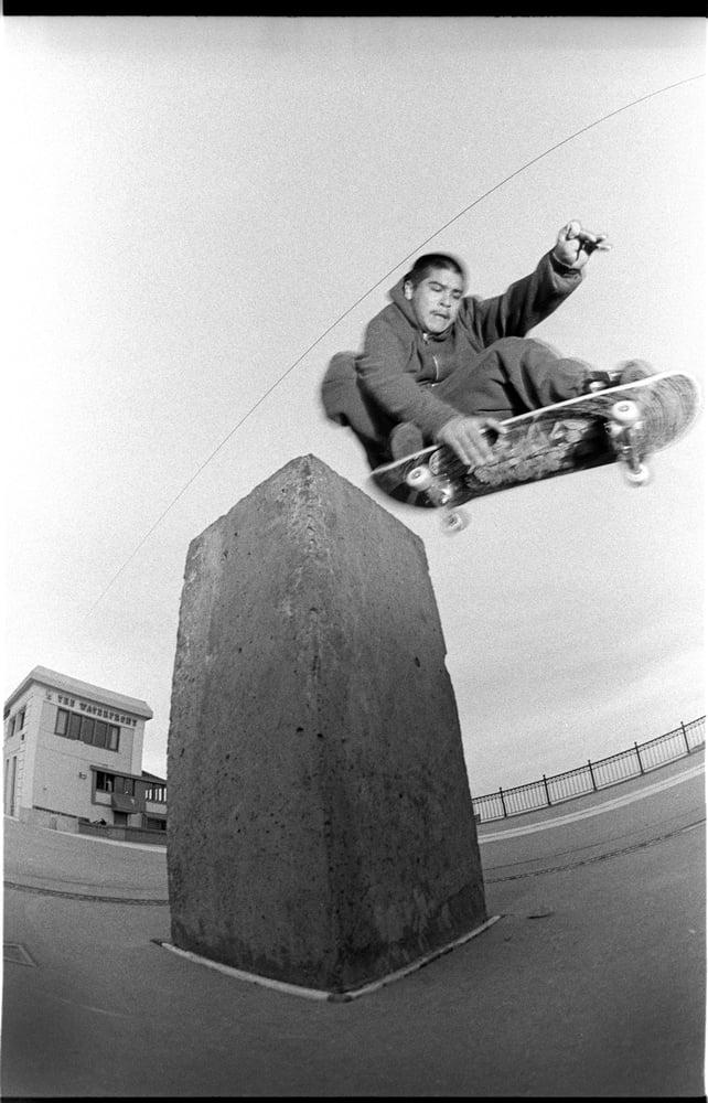 Ben Sanchez, San Francisco waterfront 1993 By Tobin Yelland